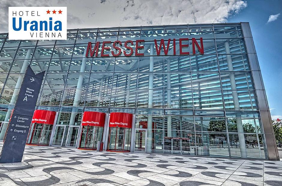 Hotel Urania direkt buchen und Geld sparen, Wohnen und Interieur Messe 2016, Empfehlung und Bewertung