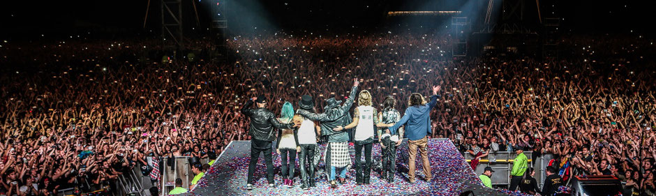 Elton John - Rolling Stones - Robbie Williams - Tote Hosen - Guns N' Roses - Ernst Happel Stadion Wien Konzert 2017