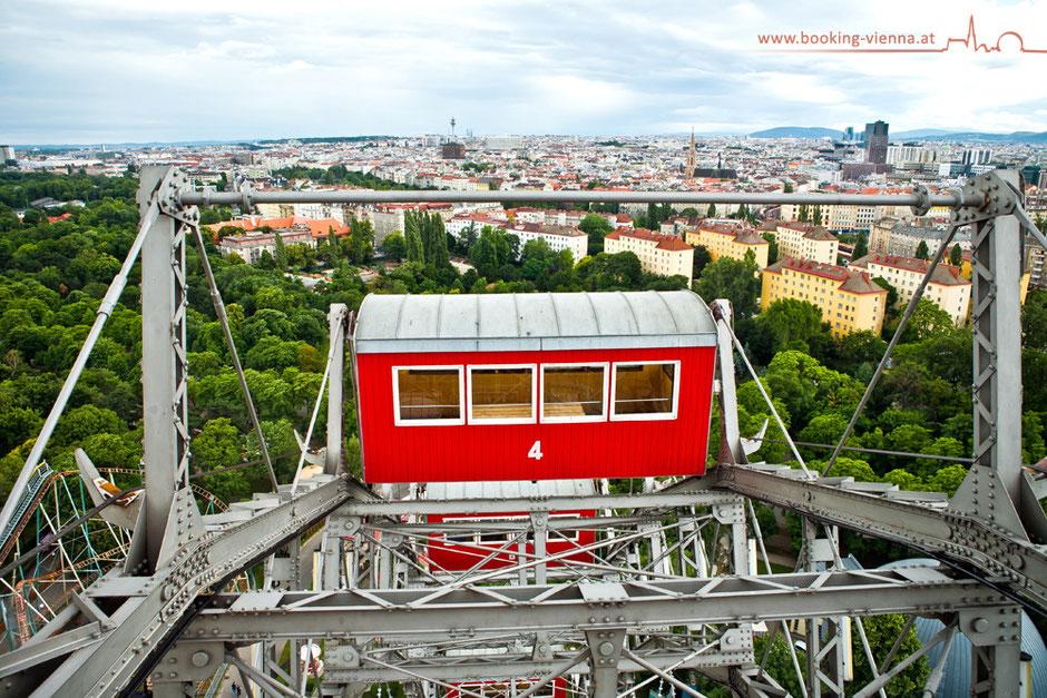 Riesenrad Hotel Urania direkt buchen und Geld sparen, Prater 250 Jahre Feier 2016, Empfehlung und Bewertung