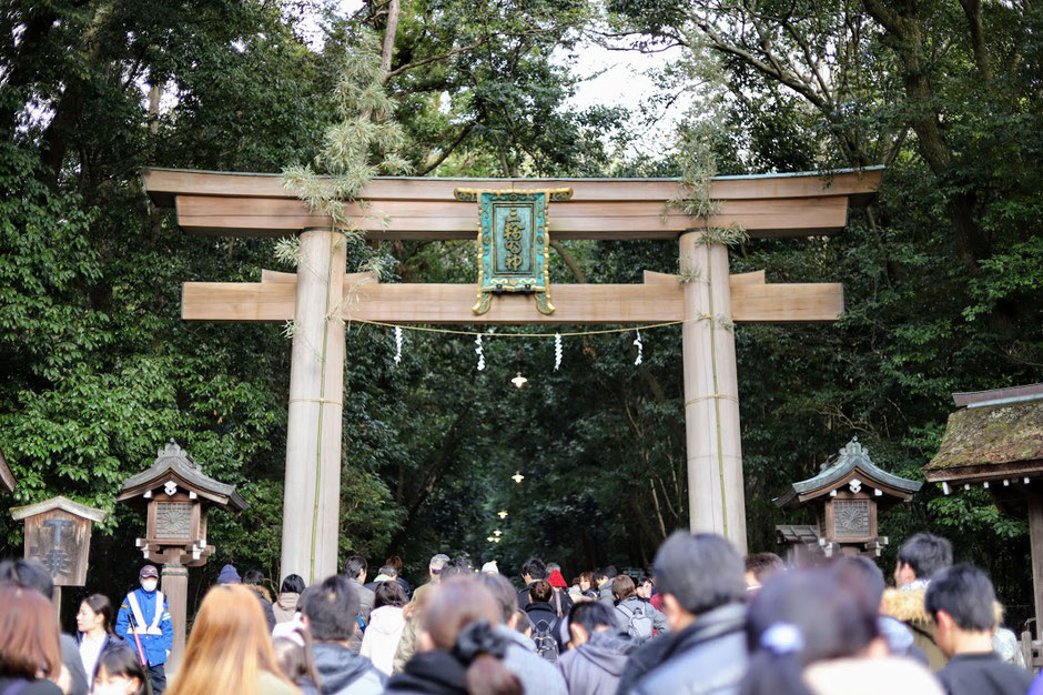 Omiwa Shrine,  Photo by Eri Mantani