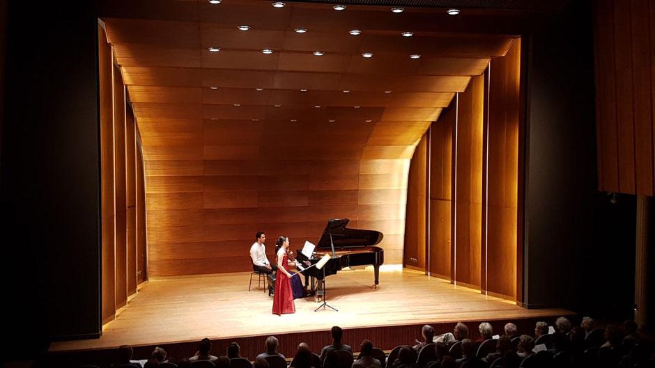 Symphoniker Hamburg Kammerkonzert am 17.6.2018 / Laeiszhalle