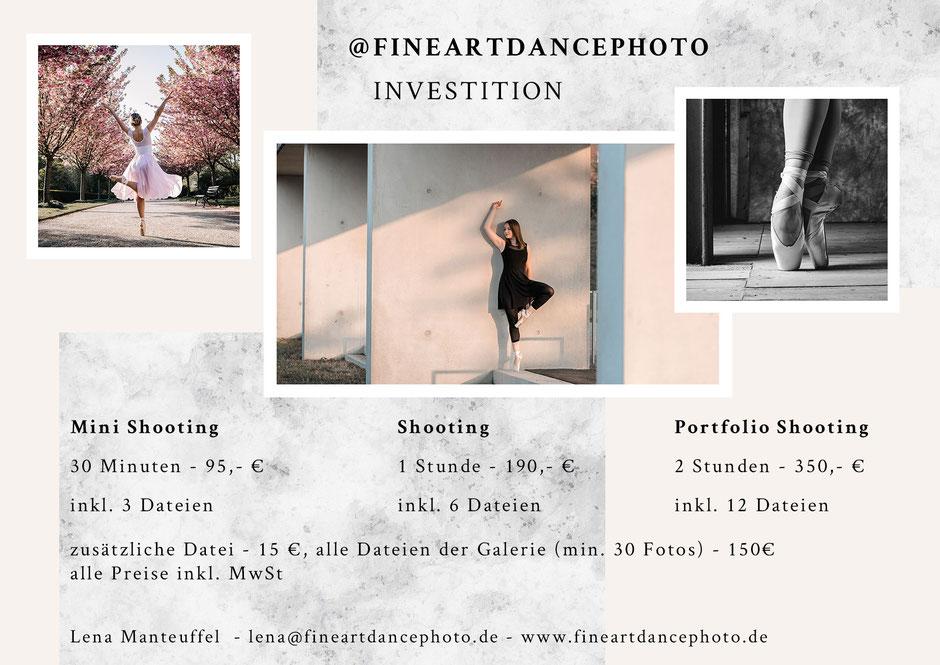 Ballett Shooting Fotograf fineartdancephoto