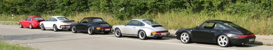911 3,2 Club Sport BJ 1987 - 911 BJ 1988 - 911 3,2 Carbio BJ 1989 - 911 3,2 BJ 1984 - 993 C4 Bj 1996