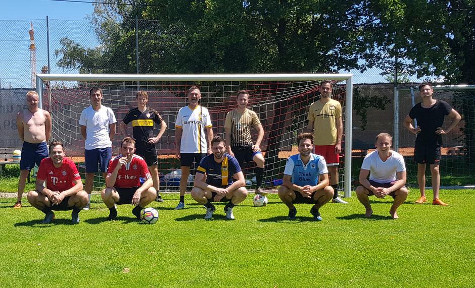 Das Team des FC St. Fouli hielt sich im Juli und August mit regelmäßigen Trainingseinheiten fit und wird ab Mitte September den Spielbetrieb wieder aufnehmen