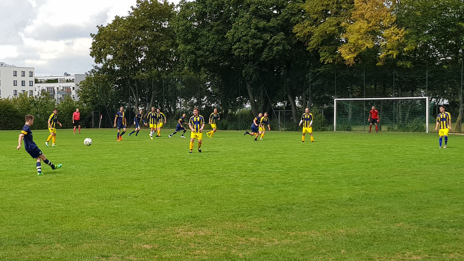 Der FC St. Fouli konnte gegen Studentenstadt II zu selten Gefahr entwicklen, auch nicht bei Standards.