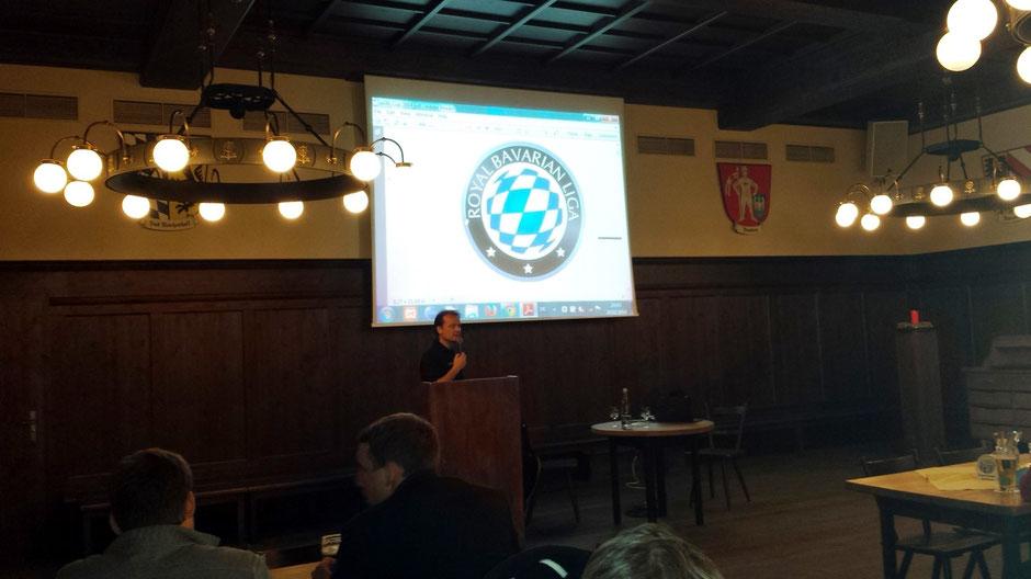Auftakt: RBL-Chef Stefan Mohme stellt die neue Saison vor.