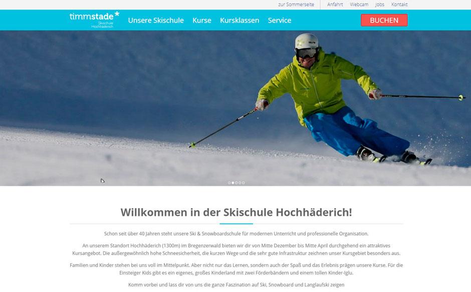 Kooperationspartner von Sport Schmidt: Skischule Timm Stade