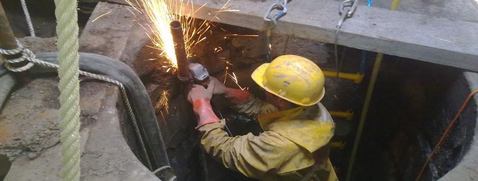 Travaux de rénovation de puits et Curage en Gironde (33)