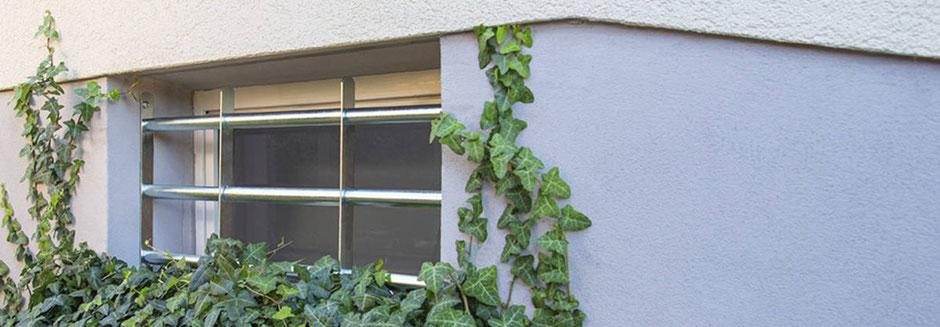 Fenstergitter gegen Einbruch