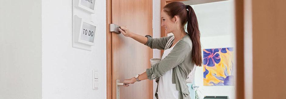 Tür Zusatzschloss gegen Einbruch