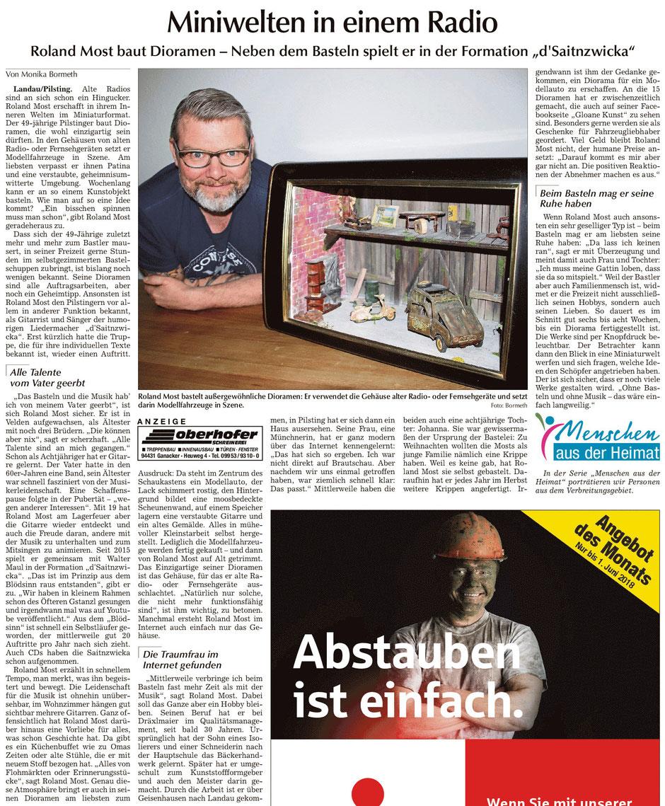 Bericht in der Landauer Zeitung...