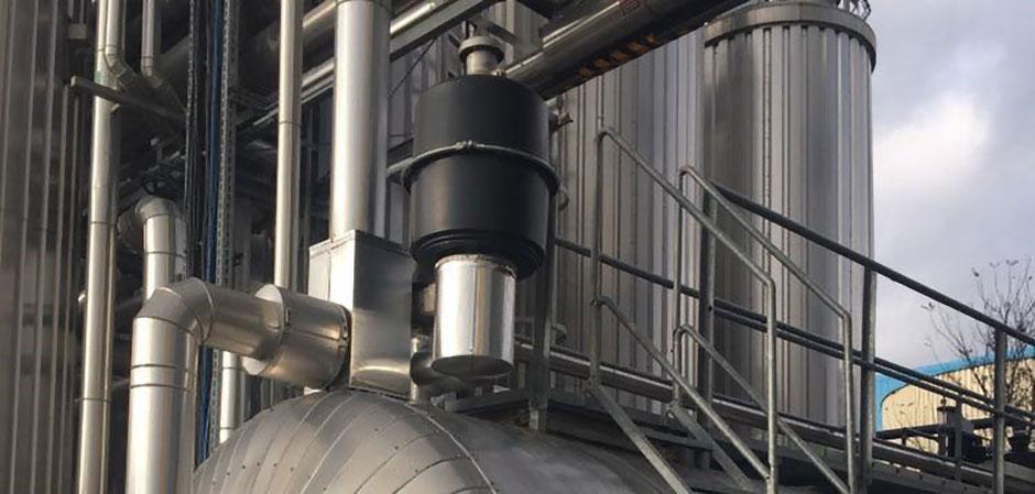 Raffinerien, Petrochemie, Papierfabriken, Brauereien, fleischverarbeitende Industrie, Schlachthäuser, Pumpenhäuser, Klärwerk, Coalsi, Mehrfachkammerfilter, Geruchsfilter, Filter, Aktivkohlefilter,