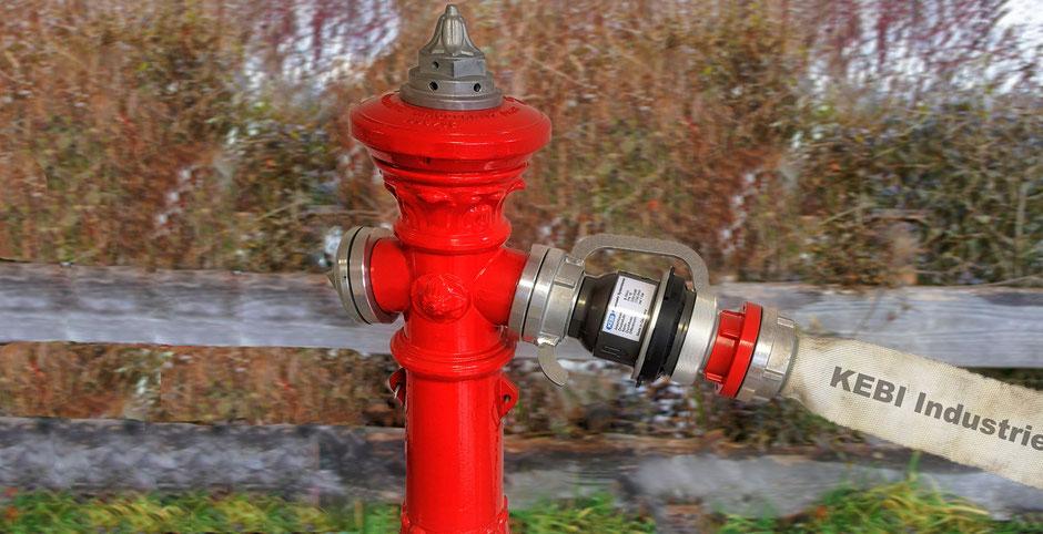 Systemtrenner, Feuerwehr, Trinkwasser, Brandschutz, Standrohr