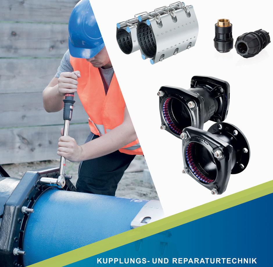 KUPPLUNGS- UND REPARATURTECHNIK von Friatec, Friagrip, Friaclamp, Magnum 3G