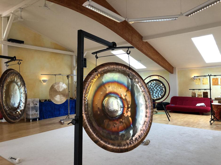 Integrale Klangarbeiter Ausbildung mit Gongs