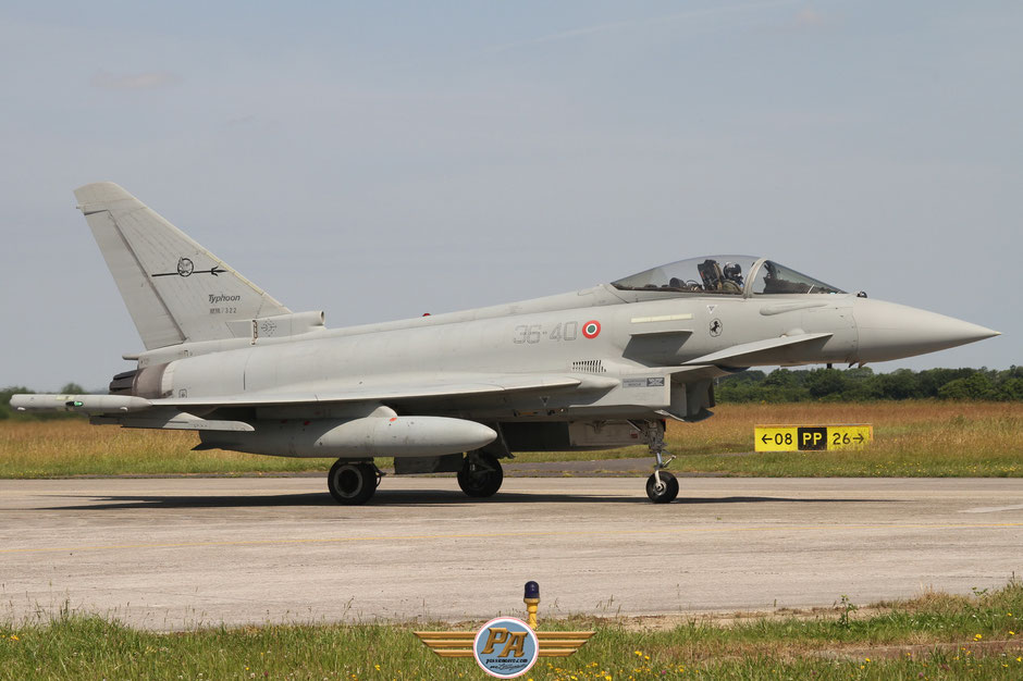 Eurofighter Typhoon MM7322 36-40 Italian Air Force