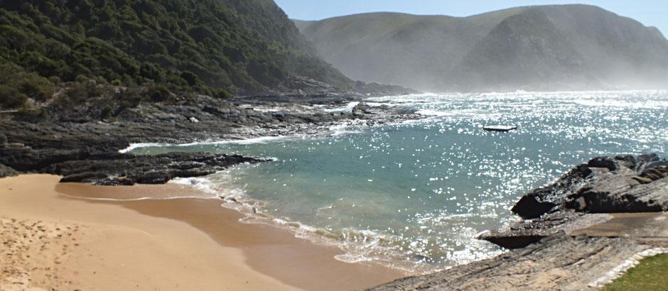 Küste im Tsitsikamma National Park/Südafrika