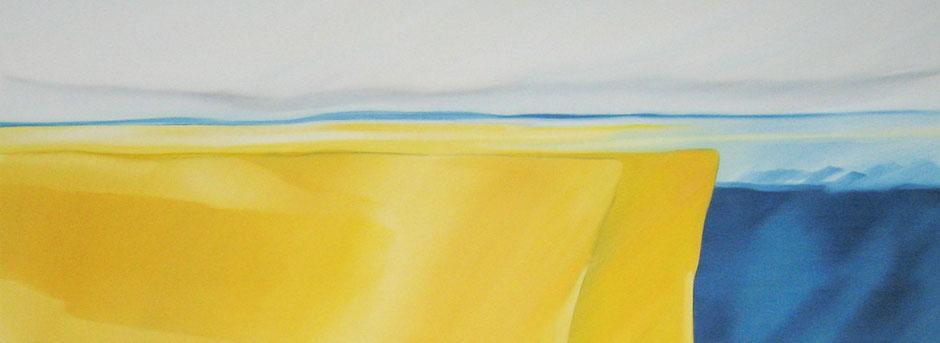 Corporate Art / Kunst für Unternehmen - 100 x 200 cm, Landschaft, Konferenzraum