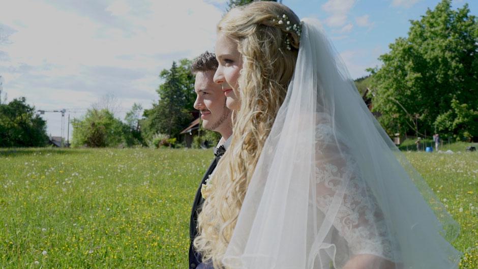 Hochzeitsvideo Szene - für immer gemeinsam gehen