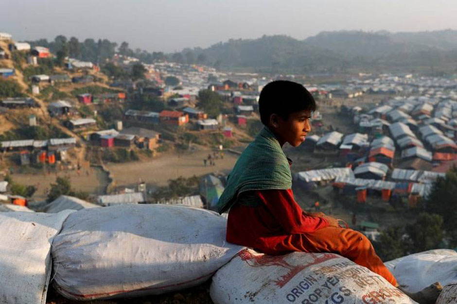 Rohingya is the world's largest refugee camp. Rarely reported on in 2020.