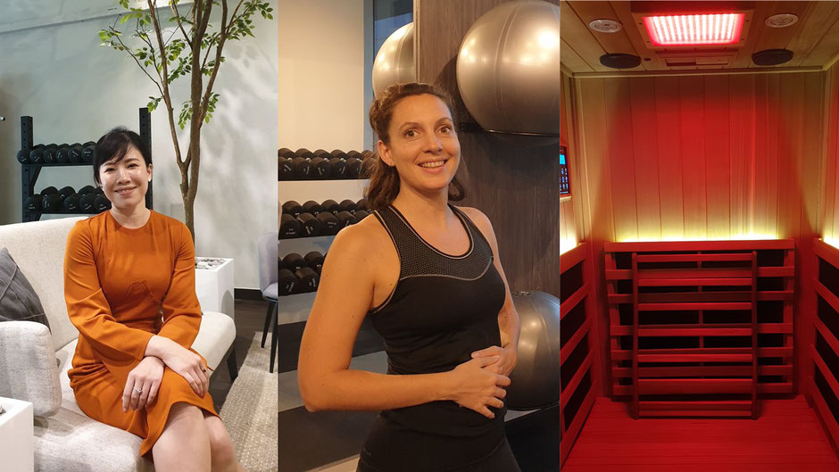 Nutrition and lifestyle coaching, personal training and full spectrum infrared sauna programmes can be included individually or combined