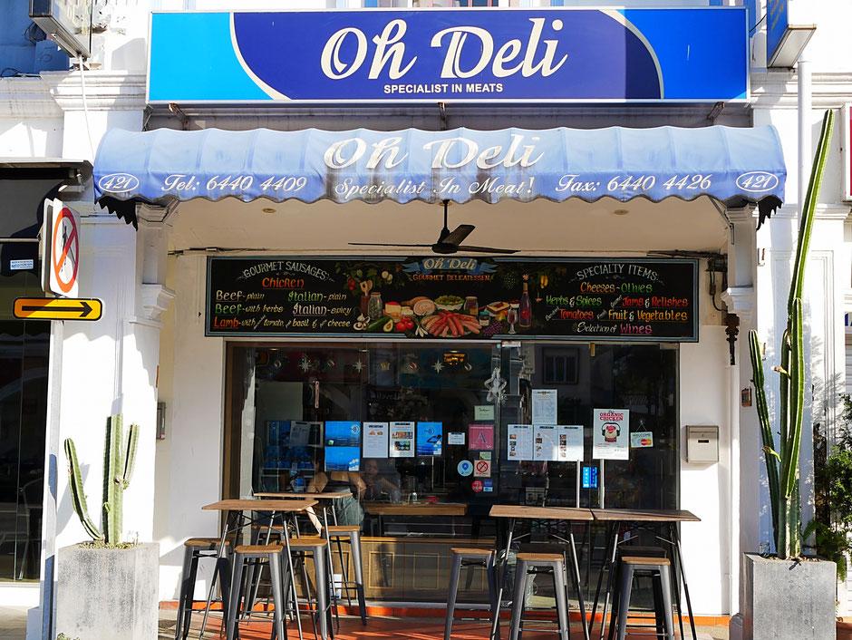 Oh Deli shop front