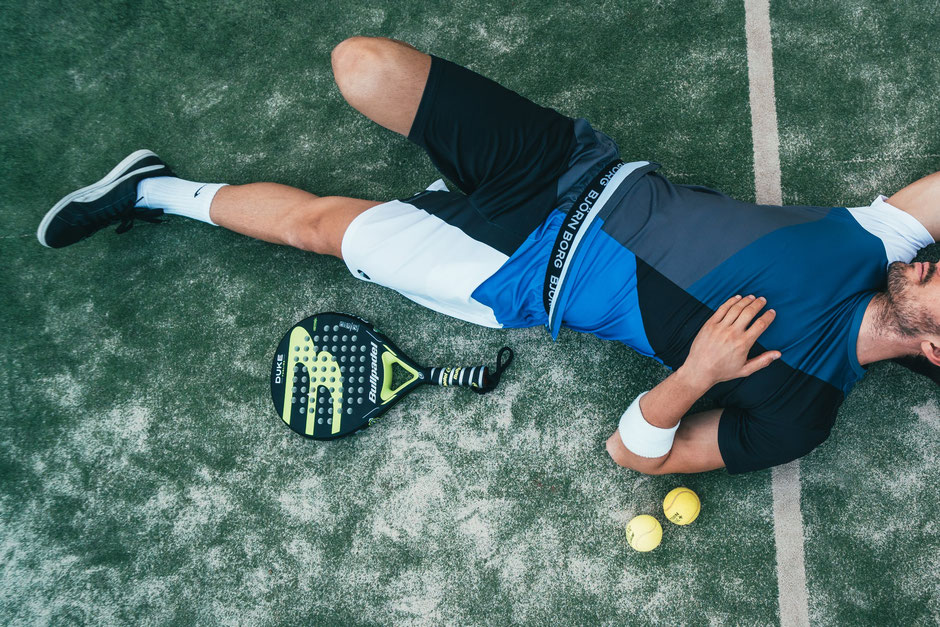 We've nothing against tennis but sometimes you need to prioritise exercise and sometimes you need to prioritise sleep!