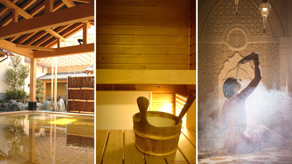 Japanese Onsens, traditional Finnish saunas and Turkish baths. Humans have been using heat therapy for 1000s of years.