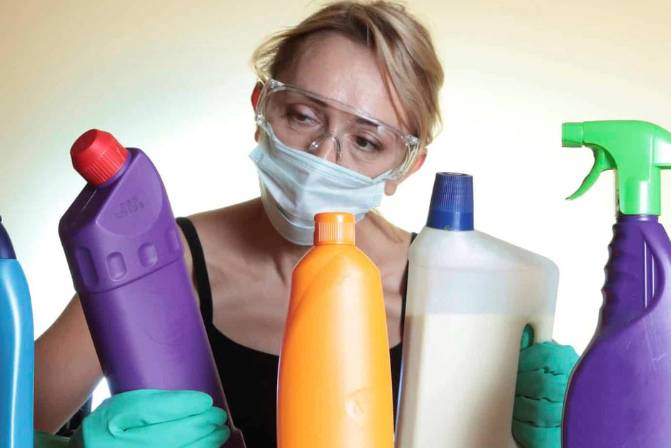 Parabens found in cleaning and beauty products are banned in Europe and Japan