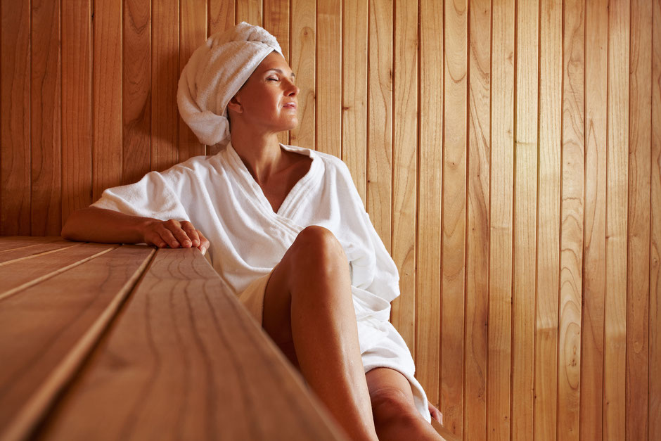 Using a Full Spectrum Infrared Sauna is a cardiovascular workout