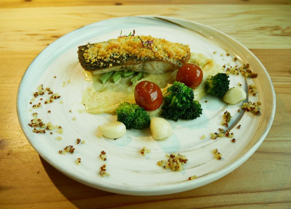 Crispy Pan-Seared Barramundi from Mahota pantry