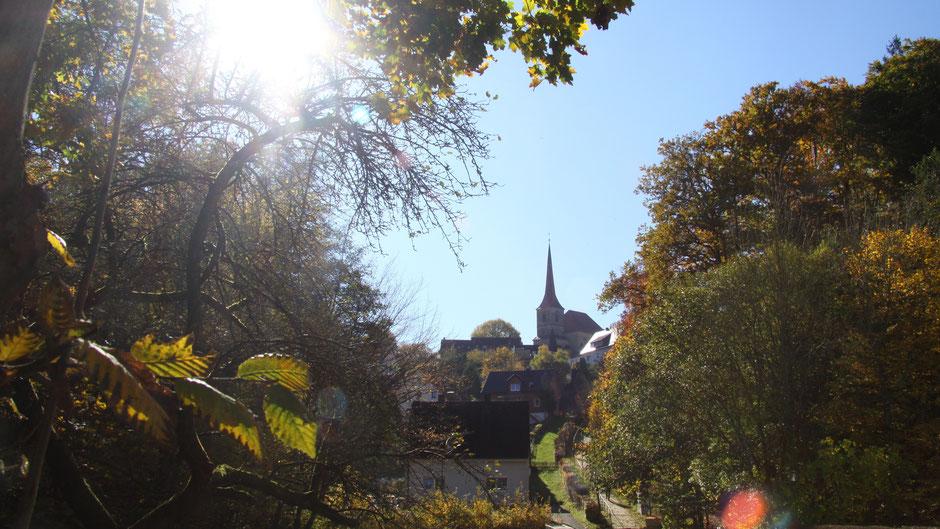 Evang.-lutherische Kirche St. Ägidius in Eckersdorf