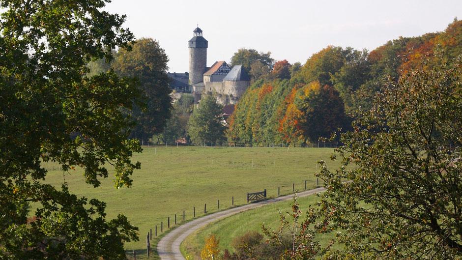 Burg Zwernitz über Sanspareil