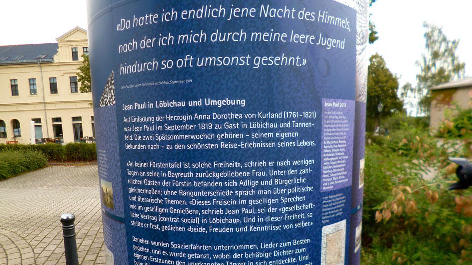Löbichau – »das schönste Reise-Erlebnis seines Lebens«