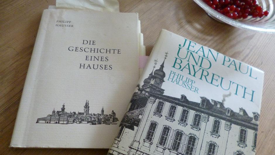 Bücher von Dr. Philipp Hausser: Jean Paul und Bayreuth