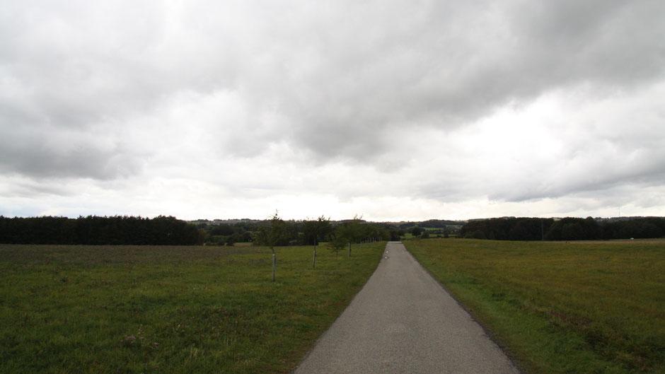 Auf dem Jean-Paul-Weg, hinter Goldkronach und Kottersreuth