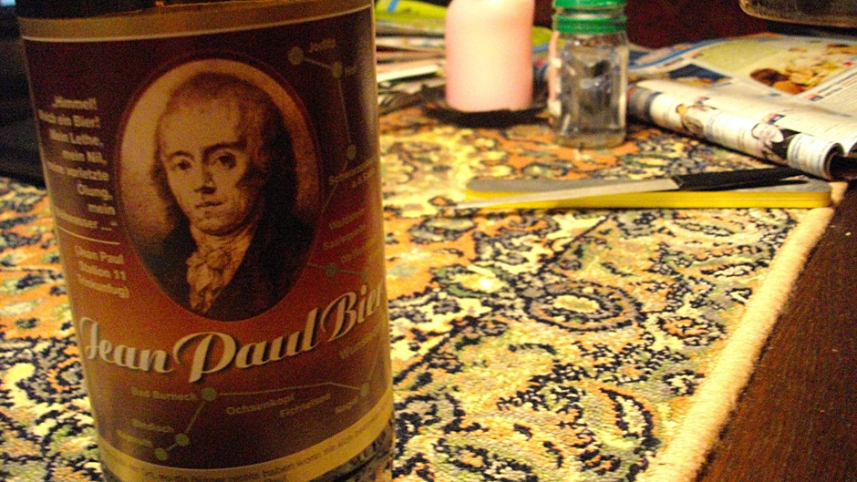 Das Jean-Paul-Bier der Lang-Bräu aus Schönbrunn