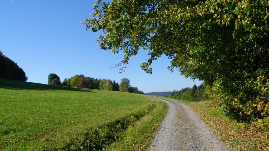 Weg zum Rodersberg