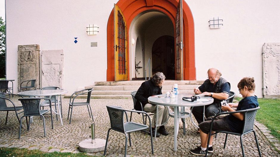 Andreas Putzhammer – Chef des Kirchen-Cafés St. Lorenz in Hof