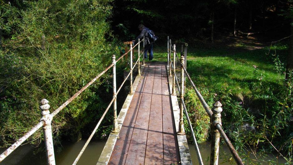 Brücke über den Roten Main, kurz vor der Eremitage