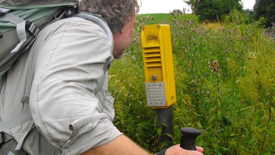 Direkte Kommunikation mit der Bundesbahn
