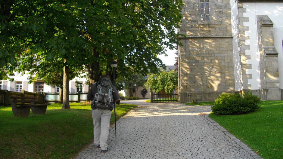 Evang.-Luth. Kirche St. Vitus in Sparneck – Gott sei Dank mit Bank!