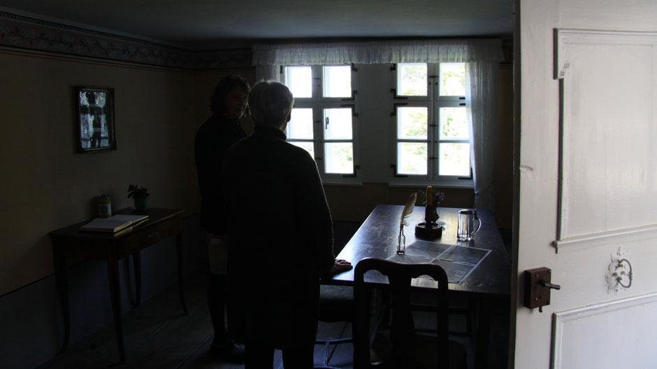 Jean-Paul-Dichterstube in der Rollwenzelei