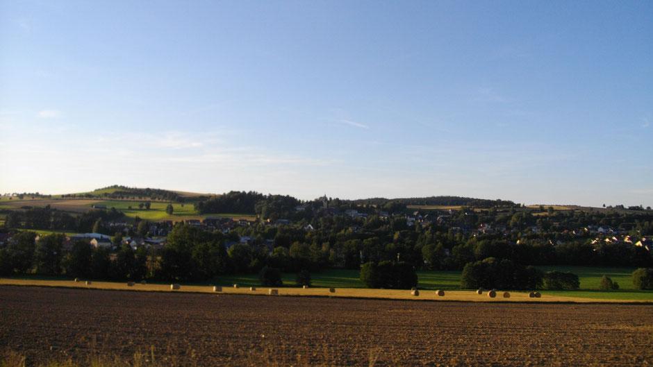 Erste Herbststimmung zwischen Lützenreuth und Bischofgrün