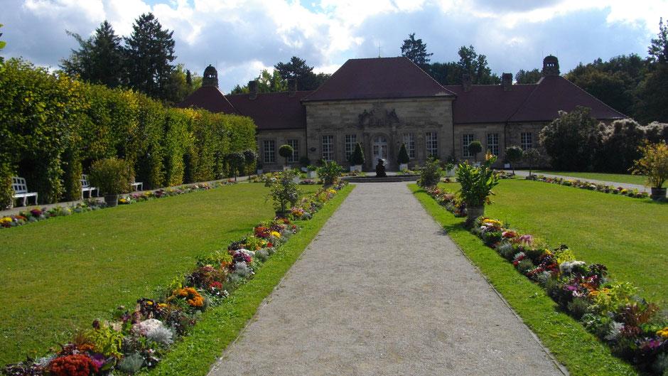 Das Alte Schloss in der Eremitage in Bayreuth