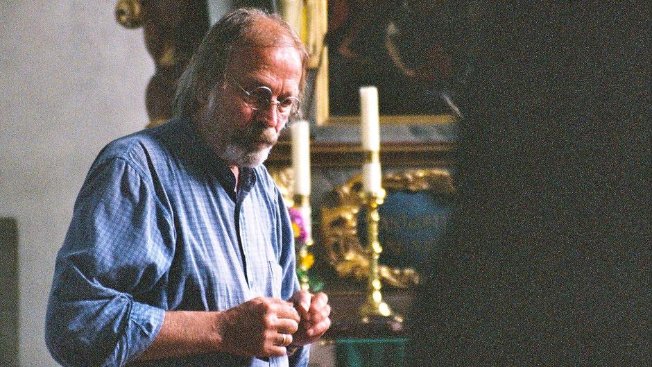 Museumsleiter Eberhard Schmidt