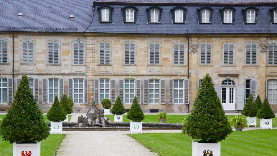 Neues Schloss Bayreuth – Ansicht Hofgarten