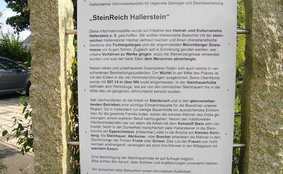 Rundweg »SteinReich Hallerstein«