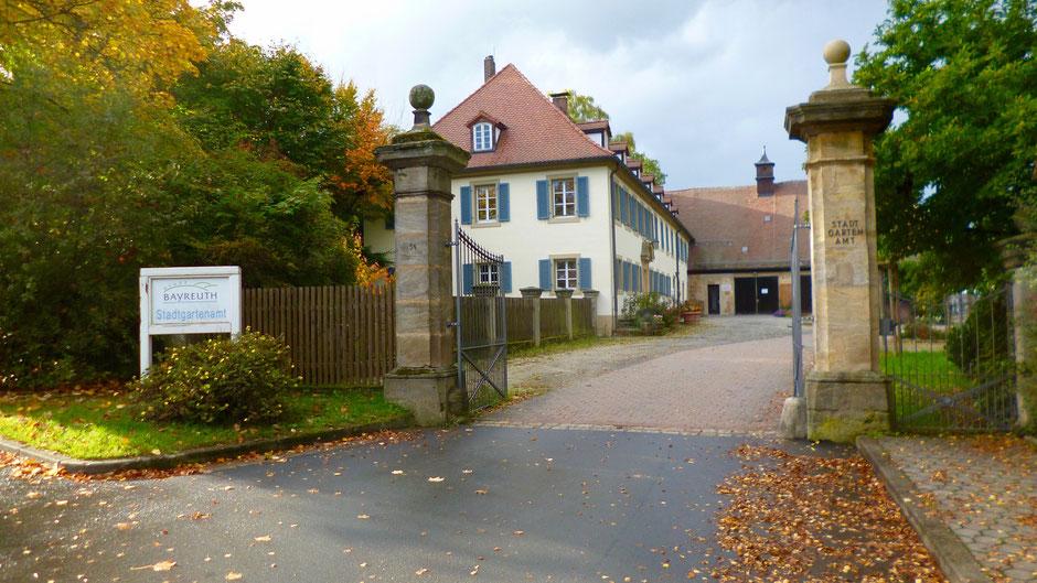 Gut (Schloss) Meyernberg – heute Stadtgartenamt Bayreuth