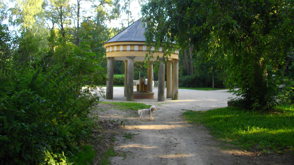Die Luisenquelle in Bad Alexandersbad